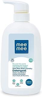 Mee Mee Mild Baby Liquid Laundry Detergent, 500 ml Bottle