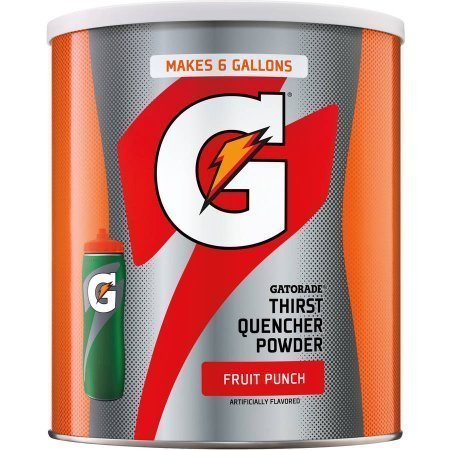 Gatorade Thirst Quencher Fruit Punch Sports Drink Mix, 51 Oz by Gatorade