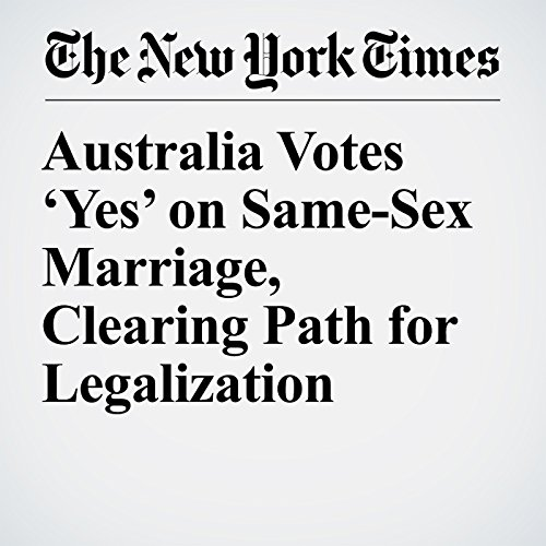 Australia Votes 'Yes' on Same-Sex Marriage, Clearing Path for Legalization copertina