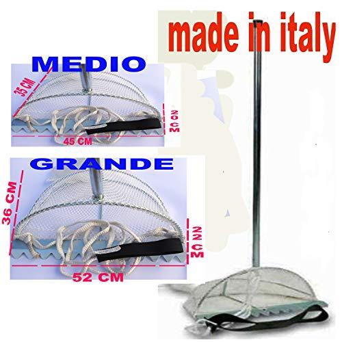 Generico TELLINARO RASTRELLO Pesca Rete VONGOLE TELLINE GRANCHI INNESCO SURFCASTING Esca (Medio)