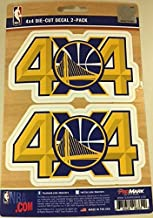 NBA - Golden State Warriors 2 Piece 4X4 Off Roader Decal Set