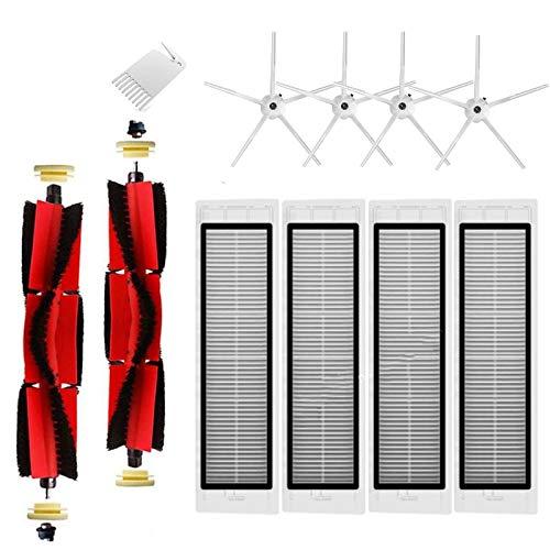 Gesh 11 piezas para S5 Max S50 S51 S55 S6 S6 accesorios puros piezas de aspiradora, filtro HEPA cepillo lateral principal