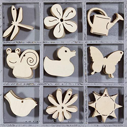 Knorr Prandell 2118521101 Holzornamentbox, Motiv Tiere