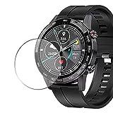 Vaxson 3 Stück Schutzfolie, kompatibel mit Microwear L16 smart watch, Bildschirmschutzfolie TPU Folie [nicht Panzerglas]