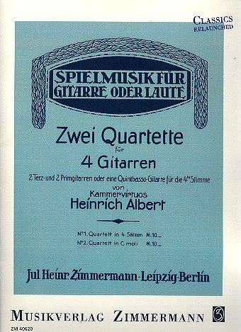 Quartett Nr. 2 in c-Moll: 4 Gitarren. Stimmensatz. (Classics Relaunched)