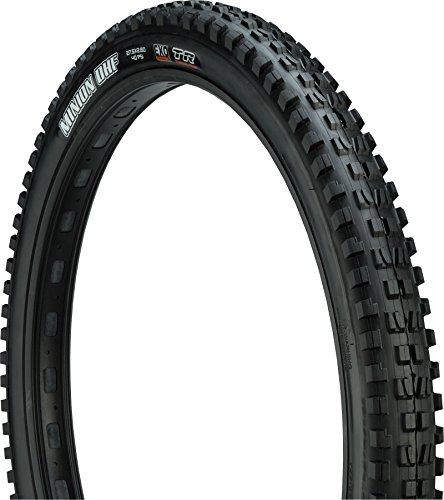 Maxxis - Minion DHF Tubeless Ready Bicycle Tire | 26 x 2.3 | Dual, EXO Puncture Protection| Black