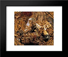 King Solomon and The Queen of Sheba 18x15 Framed Art Print by Peter Paul Rubens