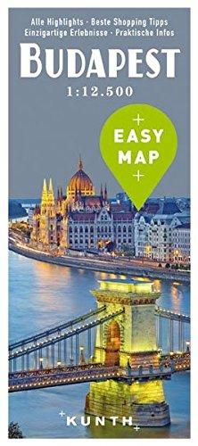 EASY MAP Budapest: 1:12.500 (KUNTH EASY MAP / Reisekarten)