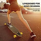 Zoom IMG-1 gonex 42 longboard skateboard completo