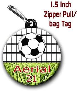 soccer ball name tags