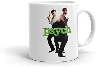 Psych Shawn and Gus White Mug - 11 oz. - Official Coffee Mug
