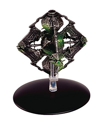 Star Trek Starships Federation Borg Queen Ship Die-Cast Vehicle with Collector Magazine #109