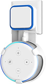 Wigoo Dot 第3世代 壁掛けホルダー Dot3 壁掛けホルダー Dot Newモデル マウント 配線収納ホルダー Dot3 保護ケース (ホワイト)