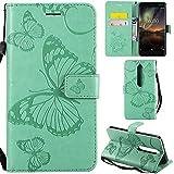 Ooboom® Nokia 6.1/Nokia 6 2018 Case 3D Butterfly Pattern
