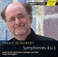 シューベルト: 交響曲第5番&第4番「悲劇的」 (Franz Schubert: Symphonies 4 & 5 / Radio-Sinfonieorchester Stuttgart des SWR, Roger Norrington) [輸入盤]