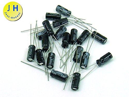 25V Condensateur electrolitique//Electrolytic Capacitor #A858 20 Pi/èces//pcs Just-Honest x 22 uF