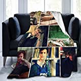 Matthew Gray Gubler Collage Ultra-Soft Micro Fleece Blanket Home Decor Throw Lightweight for Couch Bed Sofa 60'X50'
