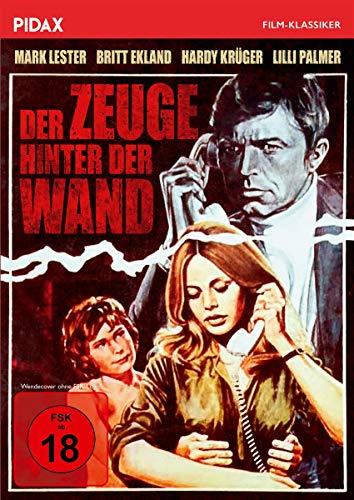 Der Zeuge hinter der Wand / Spannender Psychothriller mit Weltstarbesetzung (Pidax Film-Klassiker)