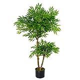 Leaf Künstlicher Ficus-Baum, Luxus, 100 cm