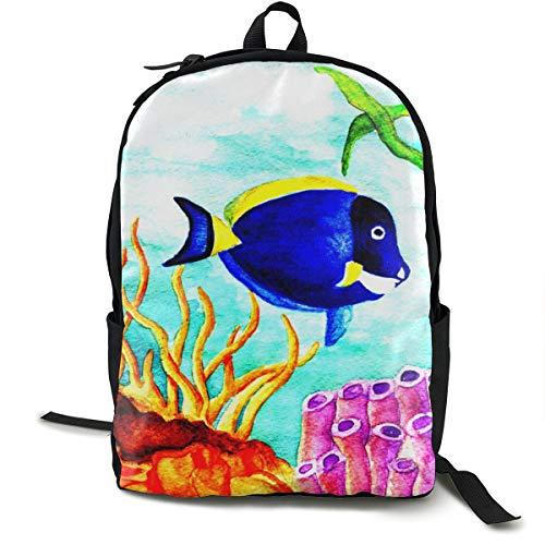 Klassischer Rucksack, Dory Swatch legere Schultasche, große Kapazität, Laptop-Tasche für Teenager, Damen, Herren, Reisen, Wandern