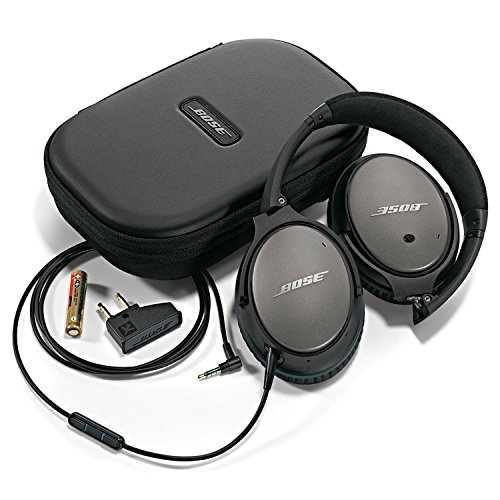 Bose QuietComfort 25 Casque Circum-aural à Réduction du Bruit - Apple - Noir