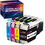 YINGCOLOR LC3237 - Cartuchos de tinta compatibles con Brother LC-3237 LC3237XL para Brother MFC-J5945DW MFC-J6945DW MFC-J6947DW HL-J6000DW HL-J6100DW J5945DW J6000DW J6100DW J6945DW J6947DW