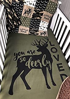you are so deerly loved crib set