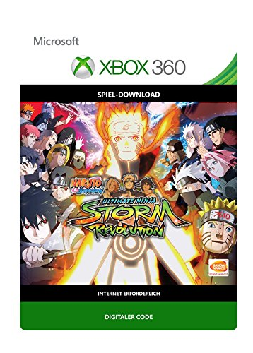 Naruto Shippuden: Ultimate Ninja Storm Revolution [Xbox 360 - Download Code]