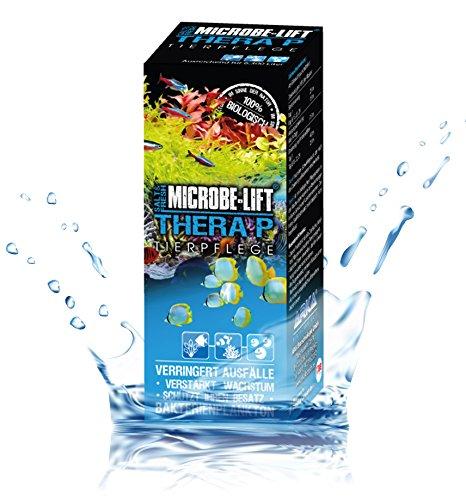 MICROBE-LIFT TheraP – Fischpflege Reinigungsbakterien, verhindert Krankheiten, unterstützt Wachstum von Tieren, Süß- und Meerwasser, 118 ml