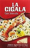 La Cigala - Gran Selección - Arroz redondo extra - 1 kg - [pack de 5]