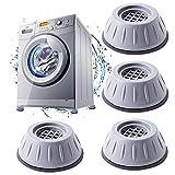 Pies para de lavadora,4 Piezas Amortiguador de Vibracion para...