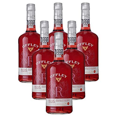 Vino de Oporto Offley Rosado - Vino Fortificado- 6 Botellas