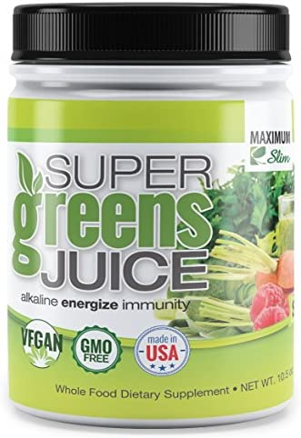 MaximumSlim Fat Burning Supergreens with 27 Natural nutrients for Maximum Energy and Maximum product image