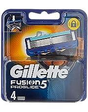 Gillette Fusion5 ProGlide Rakblad för Män Paket med 4