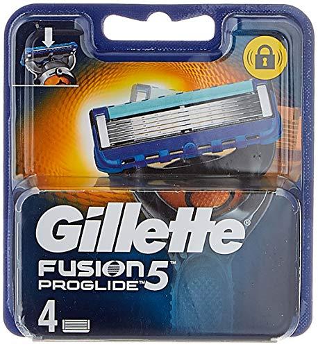 Gillette Fusion ProGlide Cuchillas de Recambio para Maquinilla de Afeitar - 4 Unidades