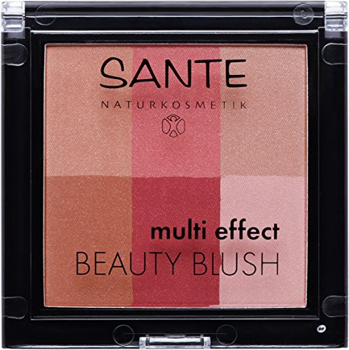 SANTE Naturkosmetik Multi Effect Beauty Blush 02 Cranberry, 8g