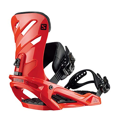 Salomon Rhythm Snowboard Bindings Mens Sz M  Red