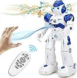 NEWYANG Roboter Spielzeug für Kinder, RC und Geste Steuerung, Aufladen mit USB-Kabel,Singender und Tanzender Roboter, Programmierung Roboter Geburtstags Innenspielzeug