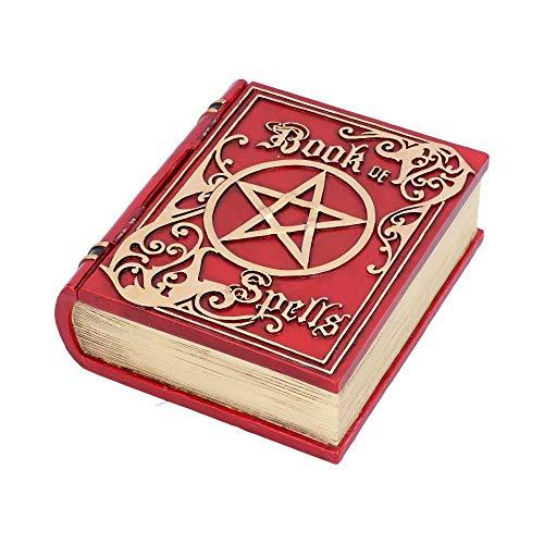 Nemesis Now - Libro de hechizos (15,5 cm), Color Rojo