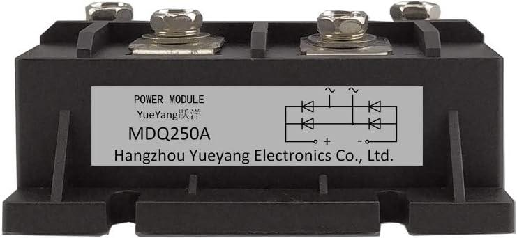 YueYang Single-Phase Rectifier Bridge Module high-Power Module MDQ250A Welding Machine Rectifier 1600V