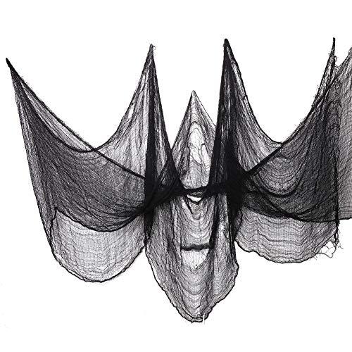 CCINEE ハロウィン グッズ 飾り お化け屋敷 ハンギング 800*76cm 幽霊 ゴースト 蜘蛛の巣 雰囲気満点 小...