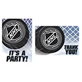 'NHL Ice Time! Collection' Party Invitation & Thank You Card Set