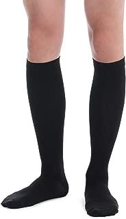 1067 I Calcetines de Compresión Graduada para Hombre. 15-20mmHg. Tela Transpirable Garantiza Optimo Confort. Ideal para Día a Día en el Trabajo y Viajes