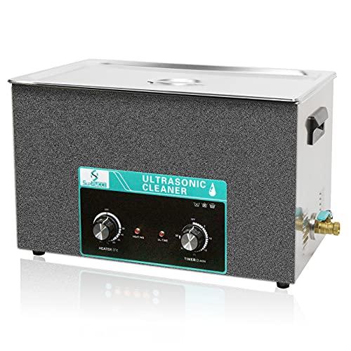 Supruci - Limpiador ultrasónico (30 L, con calefacción y temporizador, limpiador ultrasónico de 40 kHz, 600 W, limpieza profesional, joyas de reloj, herramientas de carburador, instrumento dental