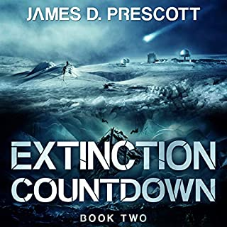 Extinction Countdown audiobook cover art