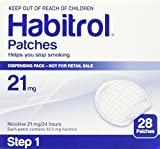 Habitrol Novartis Nicotine Transdermal System Stop Smoking Aid Patches - 28 Each (Step 1 - 21 Mg)