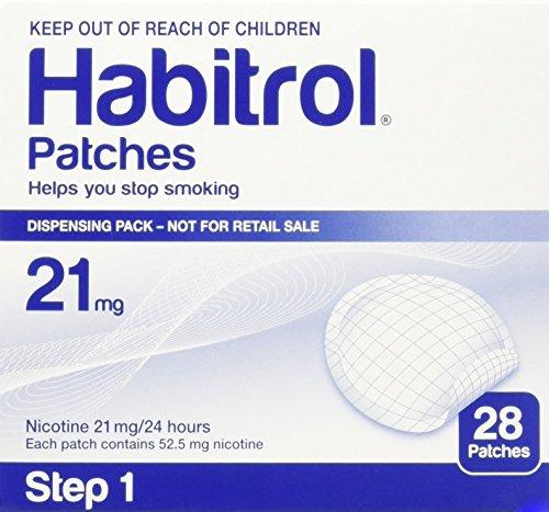 Habitrol Novartis Nicotine Transdermal System Stop Smoking Aid Patches - 28 Each (Step 1 - 21 Mg)