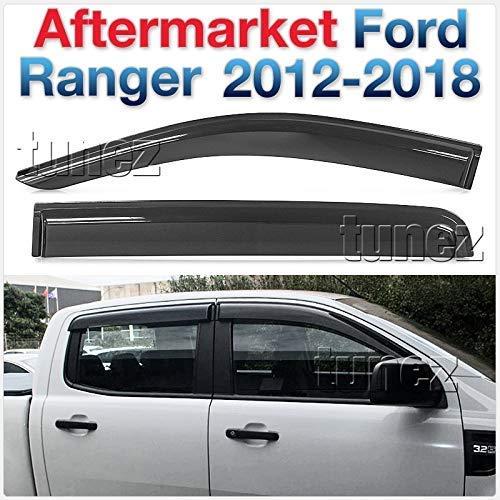 TUNEZ® WDFR01 Wetterschutz Windabweiser für Ford Ranger T6 PX MK1 MK2