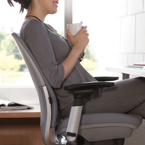 The lumbar support of Steelcase Amia