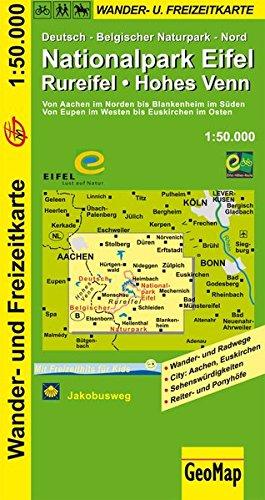 Wanderkarte Naturpark Eifel Rureifel 1:50 000 (Geo Map)